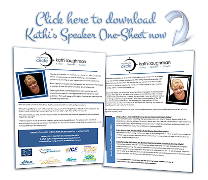 Click here to download Kathi's Speaker One-Sheet now!